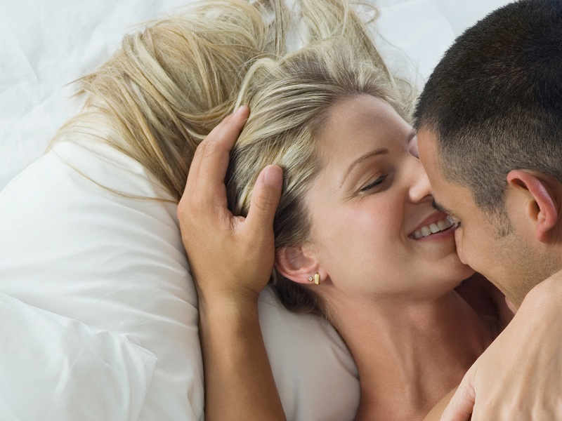 couple, bed, sex, happy, sleeping, kissing, lay, laying, hug, caress