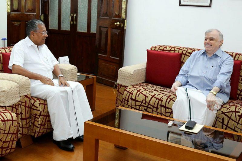 CM PINARAYI AND GOVERNOR